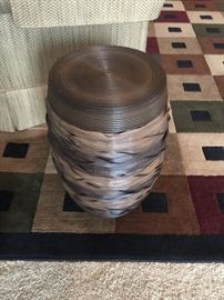 #4	Brown Decorative Side Table (2)  $20 each	 $40.00
