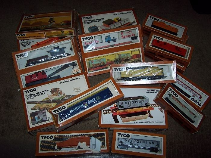Tyco Trains and Kits
