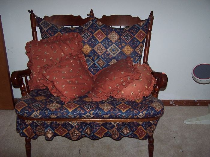 Early American Love Seat
