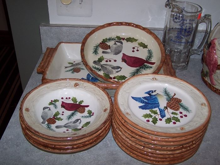 Sonoma Knollwood  Dishes and Accessories