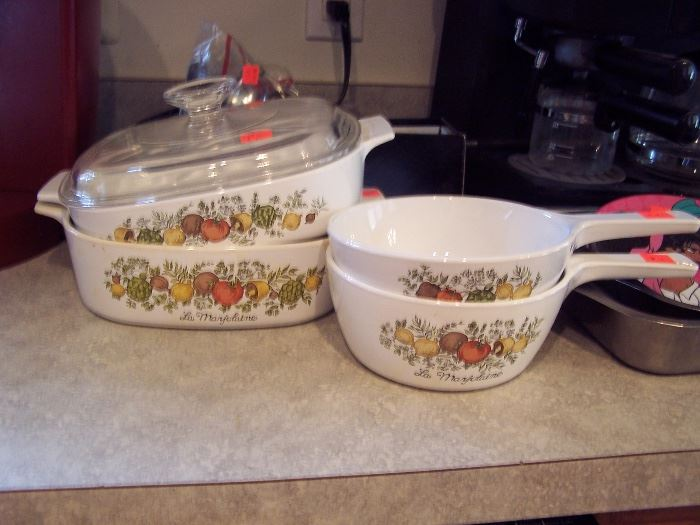 Spice of Life Corningware