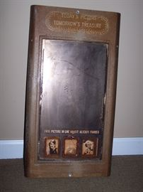 Vintage Photo Booth Mirror