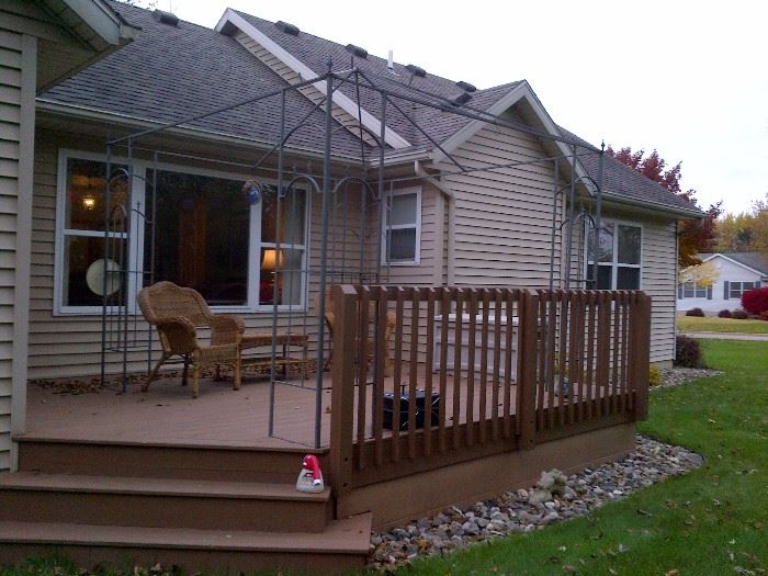 Deck Canopy (Frame and Cover)