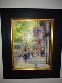 Original Oil by the famous Martha Sharp of Charleston (MarthaBrane.com)