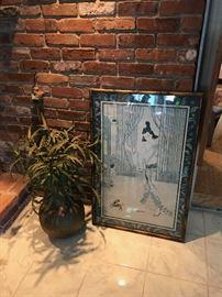 Artwork / Silk Plants and Trees
