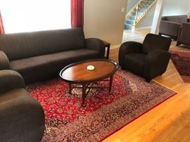 several persian rugs will be available