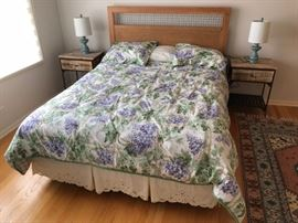 full size bed mattress is newer and includes all bedding