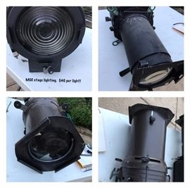 Lighting taken from the Texas A&M MSC. All lights work and are in great shape. We have a total of 12 or more.