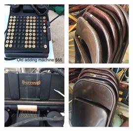 Old adding machine.