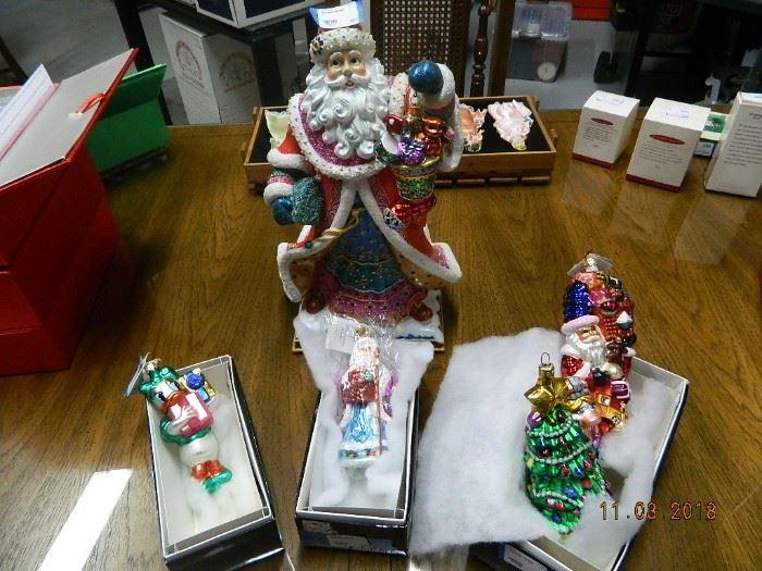 Radko ornaments