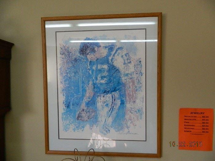 Leroy Nieman wall art