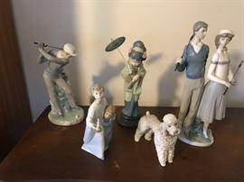 LLardo figurines