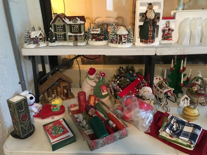 Misc, christmas items