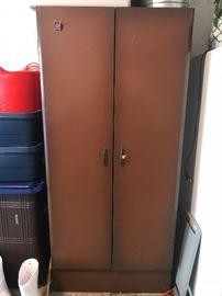Nice metal storage cabinet