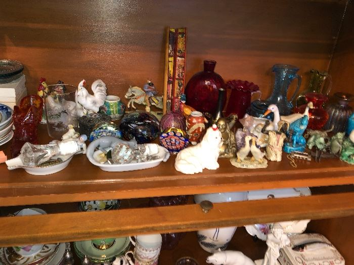 Glass collectibles