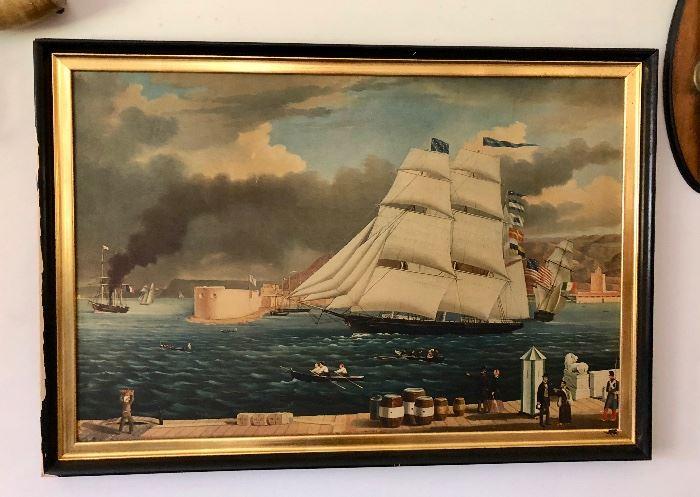 Gorgeous Nautical painting