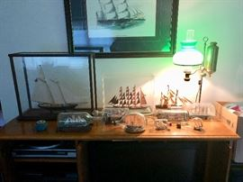 Ships in a Bottle & Sailboat models