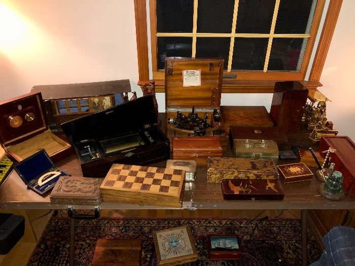 Scales, chess, music boxes