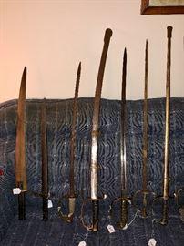 Vintage & antique swords