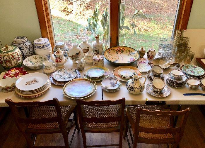 Porcelain including Limoges