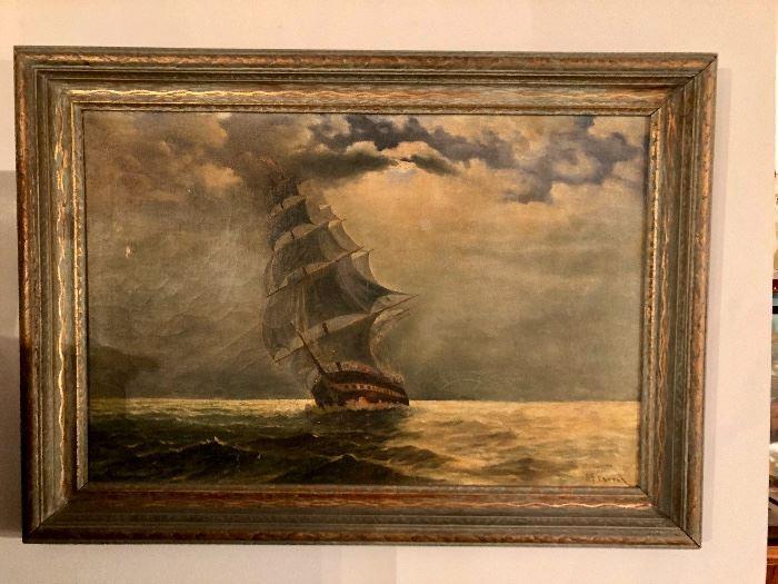 J.C. Carrol seascape