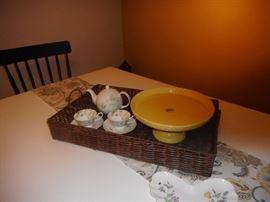 Tea Set/.Cake Stand