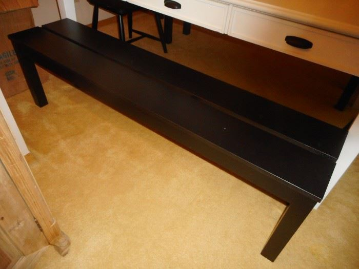 Bench (2) that we are including in purchase of table.