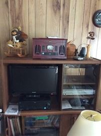 TV VCR RECORD PLAYER