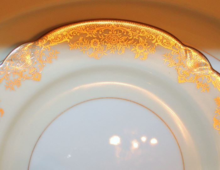 "Noritake ""Gastonia"" china - 92 pieces service for 12. This china is absolutely stunning! It is in excellent condition. How beautiful would this be on your table during the upcoming holidays!"