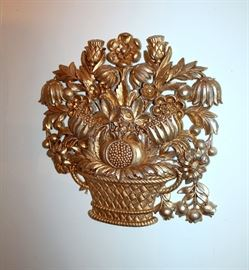 Vintage gilt wall decor