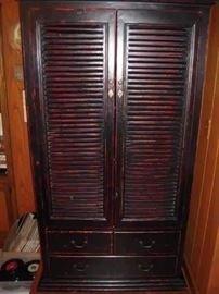 custom built  bookcase or wardrobe