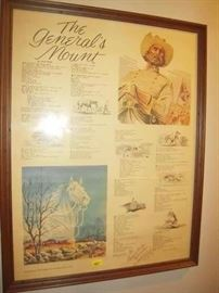The  Generals Mount signed  by neal Knox