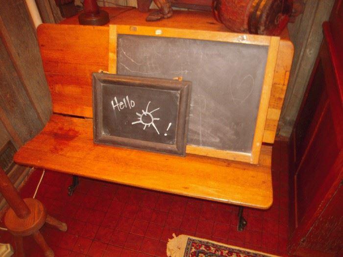 nice double school desk