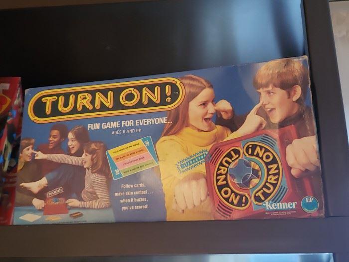 Vintage Kenner Turn On! board game