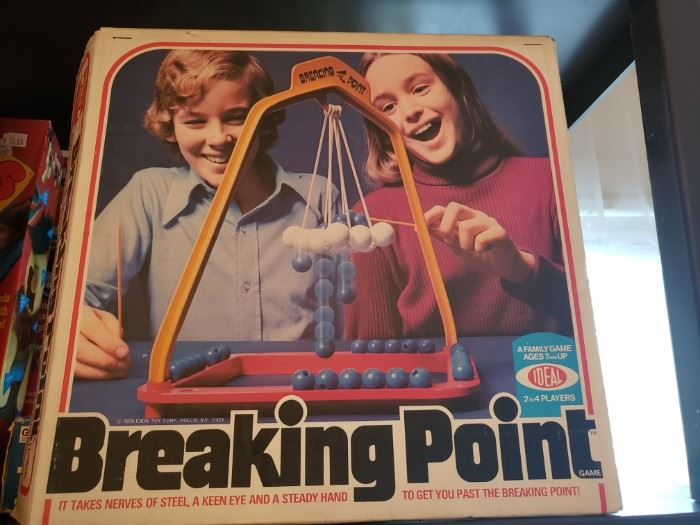 Vintage Ideal Breaking Point board game