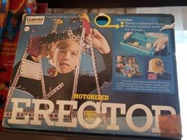 Vintage Gabriel Motorized Erector Set