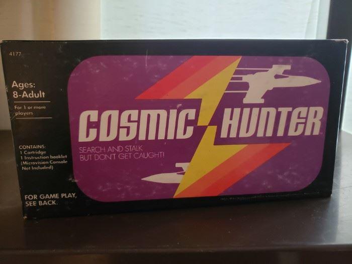 Vintage Milton Bradley Cosmic Hunter for Microvision