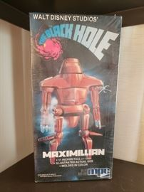 RARE Sealed MPC Walt Disney The Black Hole Maximilian Figure, NOS