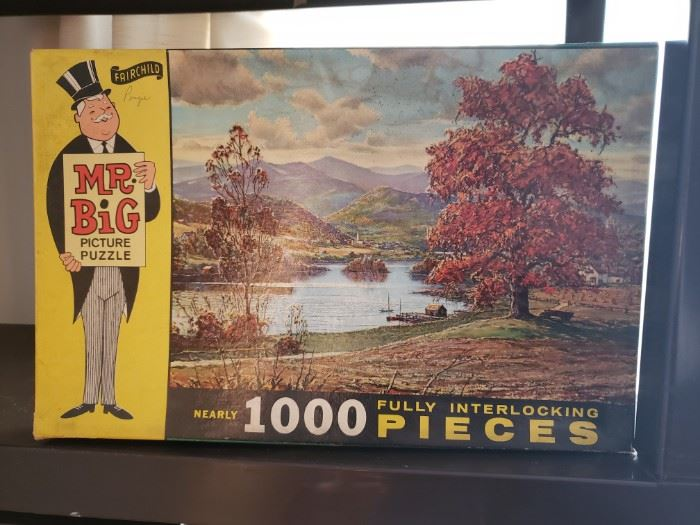 Mr. Big Picture Puzzle