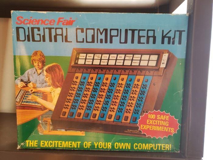 Science Fair Digital Computer Kit Cat No 28-218