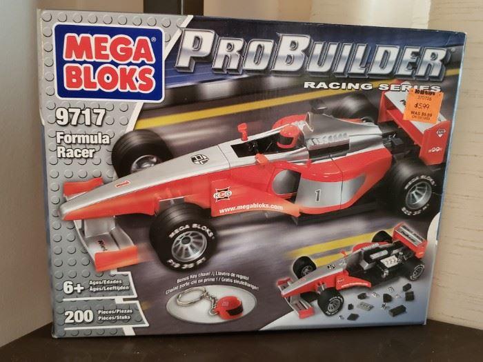Mega Bloks ProBuilder Racing Series 9717 Formula Racer
