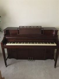FRONT ROOM ITEMS - Kimball Upright Piano