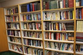 We have two rooms filled with books for sale. 90% are just $1 a book. Topics include medical reference, health, self-help, alternative medicine, astrology, wealth building and so much more!