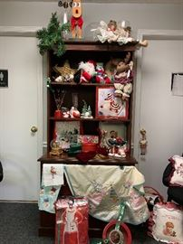 Time for Santa!!!  Christmas and holiday items.