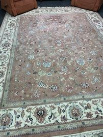 Large rug.  Very Nice.