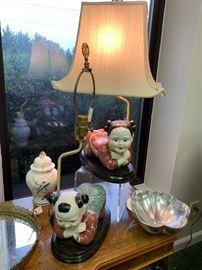 Sweet Asian Lamps.