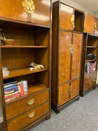 Again, Beautiful Drexel wall units.  Only sold in the finest furniture shops.  Can be used together or seperated.
