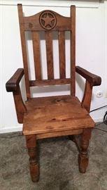 Rustic Western Chair
