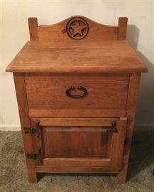 Rustic Western Night Stand