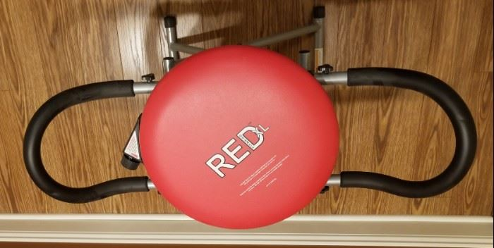 RED XL core and abdominal exercise chair